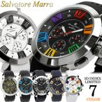 サルバトーレマーラ 腕時計 メンズ クロノグラフ 立体 限定モデル ラバー ブランド 流行 人気  10気圧防水 ギフト