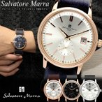 サルバトーレマーラ 腕時計 メンズ レディース 革ベルト
