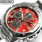 SEIKOセイコー 逆輸入 クロノグラフ メンズ 腕時計 1/20秒高速測定モデル SND495 ベ...