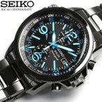 クロノグラフ SEIKO セイコー ソーラー 腕時計 メンズ クロノグラフ