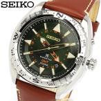 SEIKO セイコー PROSPEX プロスペックス キネティック GMT搭載 100M防水 レザー 革ベルト 腕時計 SUN051P1 ウォッチ メンズ MEN'S
