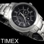 【TIMEX タイメックス】 腕時計 メンズ レトログラード メタル カレンダー T2M424