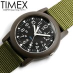 TIMEX タイメックス CAMPER キャンパー 腕時計 メンズ ナイロンベルト クオーツ 3気圧防水 24時間表示 蓄光針 ミリタリー ファッション T417119J-K