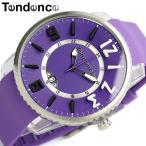テンデンス Tendence 腕時計 ユニセックス スリムポップ TG131002 パープル