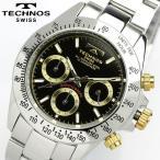 TECHNOS テクノス メンズ クロノグラフ 腕時計 TGM615LB