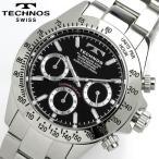 TECHNOS テクノス メンズ クロノグラフ 腕時計 TGM615SB TECHNOS テクノス 腕時計