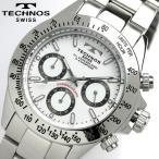TECHNOS テクノス メンズ クロノグラフ 腕時計 TGM615SW TECHNOS テクノス 腕時計