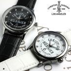 エントリーでP5倍 革ベルト 腕時計 メンズ クリスチャンオードジェー  革ベルト