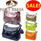 ペレボルサ PELLE BORSA ライトトラベル バッグ ショルダーバッグ 2way 3902