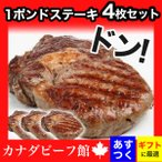 肉 牛肉 ステーキ肉 赤身 ギフト ステーキ 1ポンドステーキ バーベキュー 熟成肉 焼肉 熟成&極厚1ポンドステーキ450g4枚セット