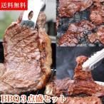 肉 福袋 焼肉 バーベキュー セット バーベキューセット 牛肉 ステーキ肉 ステーキ サガリ ハラミ 特選 BBQ 3点盛セット1.0kg 約 1kg 3人前 - 4人前