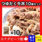 牛丼 牛丼の具 牛どん 送料無料!名水仕込みのつゆだく牛丼10個セット 牛 牛肉 グルメ