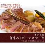 tボーンステーキ ヒレステーキ ステーキ肉 ステーキ 赤身 赤身肉 骨付き肉 骨付き牛肉 厚切り 仔牛のTボーンステーキ