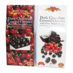 ダークチョコレート まるごとチェリー チョコレート、メープルシロップ入、100g、1箱、お土産袋付、クール便選択可
