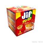 129g(43g×3個)×8箱 ジフ ピーナッツバター TOGO クリーミー 3P沖縄は一部送料負担あり