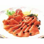 鮭魚 - 紅スモークサーモン スライス半身 600g カナダ土産 紅鮭サーモン 取り寄せ品 激安 お歳暮