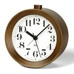 RIKI ALARM CLOCK ブラウン アラーム時計 WR09-15 BW