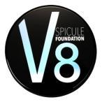 選べるおまけ付き 正規品 V8スピキュールファンデーション 18g (送料無料) v8ファンデーション スピキュール 天然微細針 針ファンデ 幹細胞 韓国コスメ