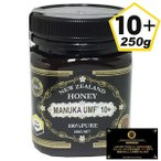 UMFマヌカハニー 10+ 37ハニー(250g)(送料無料) 100%ハチミツ 蜂蜜 ニュージーランド産 蜂の巣 天然 自然 濃い ユニーク・マヌカ・ファクター MANUKA HONEY