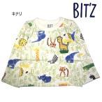 ショッピングビッツ ビッツ〔BIT'Z〕動物かくれんぼ柄長袖Tシャツ(キナリ)(80cm〜110cm)