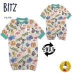 ショッピングビッツ ビッツ〔BIT'Z〕動物柄2WAYドレス(キナリ)(50cm〜70cm)