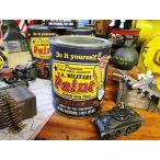 戦車色に塗れちゃうペンキ ミリタリーペイント(アーミータンクグリーン) アメリカ雑貨 アメリカン DIY 工具 文具 塗料 塗装用品 ペンキ 塗料 人気