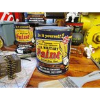 戦車色に塗れちゃうペンキ ミリタリーペイント(戦艦ブルー) アメリカ雑貨 アメリカン雑貨 DIY 工具 文具 塗料 塗装用品 ペンキ 塗料 人気