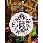 ラットフィンクの50周年アニバーサリーのバゲッジタグ アメリカ雑貨 アメリカン雑貨 グッズ