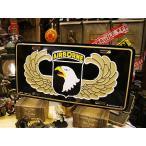 エアボーンのミリタリーライセンスプレート(スクリーミングイーグル) アメリカ雑貨 アメリカン インテリア 壁飾り おしゃれな雑貨屋さん 通販 人気