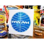 パンナムのステッカー アメリカ雑貨 アメリカン雑貨 車 シール ブランド
