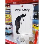 ウォールストーリー・リムーバブルステッカー(Ojisanシリーズ/ため息) アメリカ雑貨 アメリカン雑貨 車 シール ブランド おもしろ グッズ