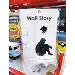 ウォールストーリー・リムーバブルステッカー(Ojisanシリーズ/憂鬱) アメリカ雑貨 アメリカン雑貨 車 シール ブランド おもしろ グッズ