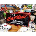 シェビー・トラックのライセンスプレート(ハートビート) アメリカ雑貨 アメリカン インテリア 壁飾り おしゃれな雑貨屋さん 通販 ガレージ