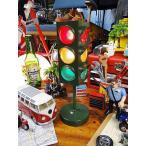 Yahoo!アメリカ雑貨通販キャンディタワーアメリカの信号機ライト(グリーン) アメリカ雑貨 アメリカン雑貨 インテリアライト 照明 ランプ ミニカー