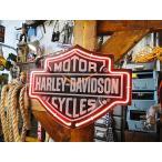 ショッピングハーレーダビッドソン ハーレーダビッドソン バー&シールド・ネオンクロック アメリカン雑貨