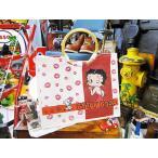 ベティ・ブープのジュートエコバッグ アメリカ雑貨 アメリカン雑貨 インテリア グッズ おしゃれ 人気 アメリカ 雑貨 通販 ギフト