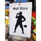 ウォールストーリー リムーバブルステッカー(Ojisanシリーズ2)/ 風呂上がり アメリカ雑貨 アメリカン雑貨 車 シール ブランド おもしろ グッズ