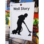 ウォールストーリー リムーバブルステッカー(Ojisanシリーズ2)/ 掃除 アメリカ雑貨 アメリカン雑貨 車 シール ブランド おもしろ グッズ