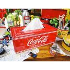 コカ・コーラブランド ティッシュケース アメリカ雑貨 アメリカン雑貨  coca-colaコカコーラ グッズ coke ティッシュカバー おしゃれ インテリア