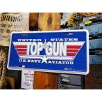 トップガンのミリタリーライセンスプレート アメリカ雑貨 アメリカン インテリア 壁飾り おしゃれな雑貨屋さん 通販 人気 ミリタリー