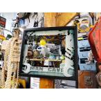 ガレージパブミラー(男の隠れ家) アメリカ雑貨 アメリカン雑貨 インテリア アメリカ 通販 男 インテリア雑貨 おしゃれな部屋 人気