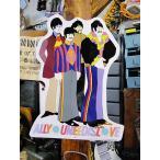 ビートルズ イエローサブマリンのキャラクターブリキ看板 アメリカ雑貨 アメリカン雑貨 サインプレート ティンサインボード インテリア 壁飾り 人気