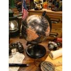 アンティークグローブ ブラックオーシャン 地球儀(Sサイズ) アメリカン雑貨 アメリカ雑貨