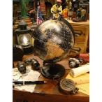 アンティークグローブ ブラックオーシャン 地球儀(Mサイズ) ■ アメリカン雑貨 アメリカ雑貨 インテリア アンティーク おしゃれ