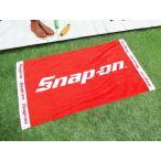 スナップオンのビーチタオル 150cmサイズ アメリカ雑貨 アメリカン雑貨