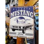 フォード クラシック・マスタングのブリキ看板 アメリカン雑貨