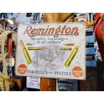レミントンのブリキ看板(ライフル&ショットガン) アメリカ雑貨 アメリカン雑貨 サインプレート ティンサインボード
