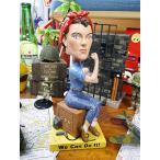 ロージー・ザ・リベッターのボビングヘッド アメリカ雑貨 アメリカン雑貨 首振り人形 おしゃれ 人気 アメキャラ