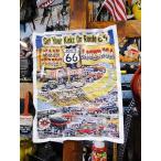 ルート66のポスター アメリカ雑貨 アメリカン雑貨 インテリア 壁飾り おしゃれ 人気