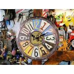 ヴィンテージ・ナンプレクロック  アメリカ雑貨 アメリカン雑貨 壁掛け時計 おしゃれ